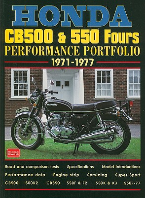 Honda Cb500 & 550 Fours By Clarke, R. M.